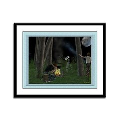 Starry Night 12x9 Framed Print