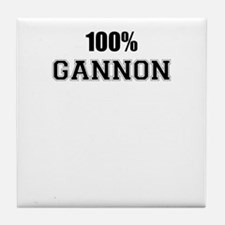 100% GANNON Tile Coaster