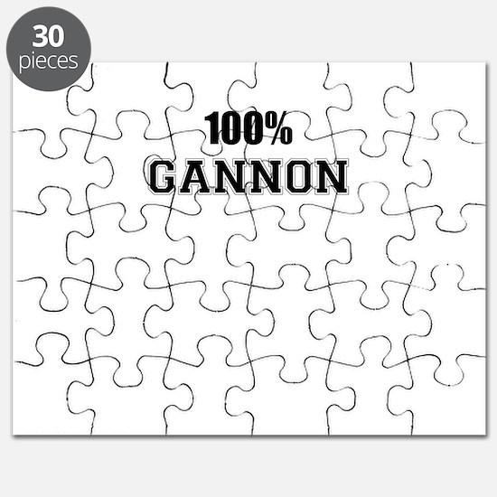 100% GANNON Puzzle