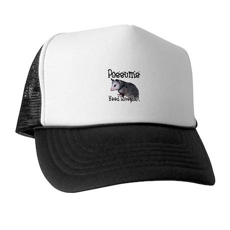 Possums Need Love Trucker Hat