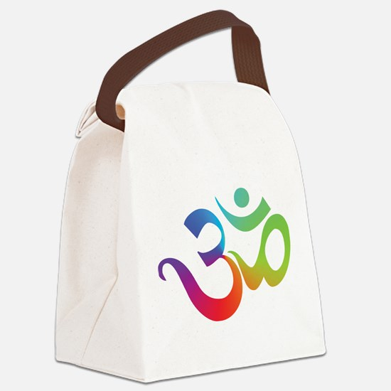 yoga2.png Canvas Lunch Bag