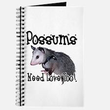 Possums Need Love Journal