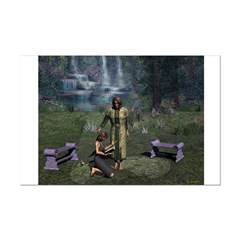 In The Garden 14x11 Poster Print