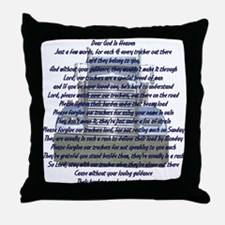 Dear God in Heaven Throw Pillow
