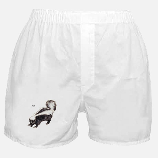 Skunk for Skunk Lovers Boxer Shorts