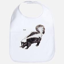 Skunk for Skunk Lovers Bib
