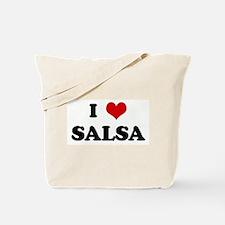 I Love SALSA Tote Bag