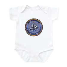 USS BAINBRIDGE Infant Bodysuit