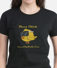 Women's Blues Chick Fitted T