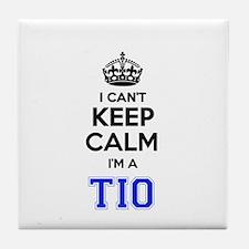 I cant keep calm Im TIO Tile Coaster