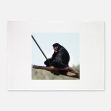 spider monkey 5'x7'Area Rug