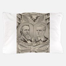 currier ives 19th century illustration Pillow Case