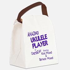 Cool Ukulele Canvas Lunch Bag