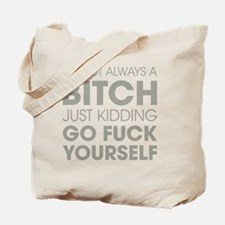 Phrase Tote Bag