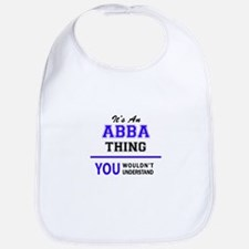 ABBA thing, you wouldn't understand! Bib