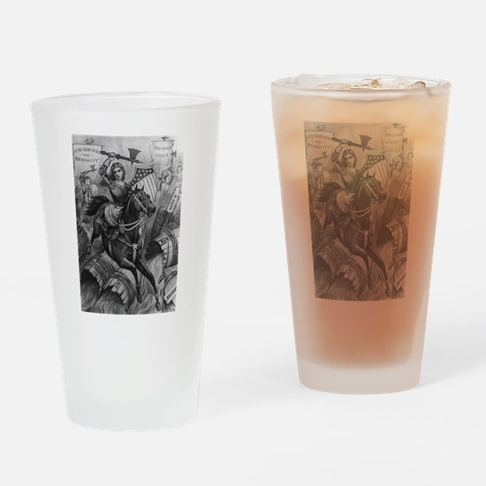 temperance Drinking Glass