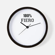 100% FIERO Wall Clock
