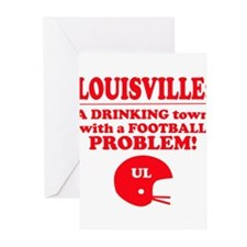 Unique Louisville cardinals Greeting Cards (Pk of 10)