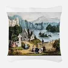 ireland Woven Throw Pillow