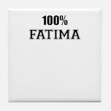100% FATIMA Tile Coaster