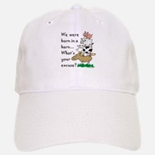 Born in a Barn Baseball Baseball Cap