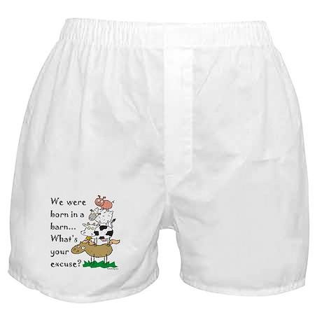 Born in a Barn Boxer Shorts