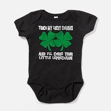 pat3dark.png Baby Bodysuit