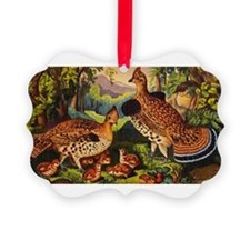 grouse Ornament