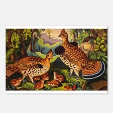 grouse Postcards (Package of 8)