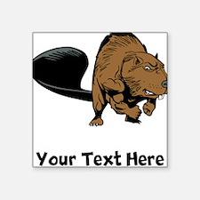 Strong Beaver (Custom) Sticker