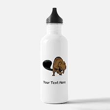 Strong Beaver (Custom) Water Bottle
