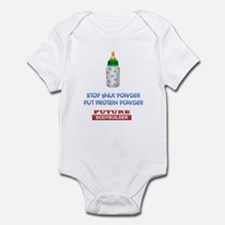 Protein powder2 Infant Bodysuit