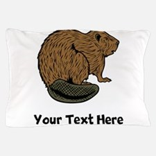 Brown Beaver (Custom) Pillow Case