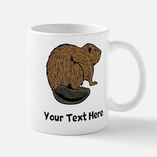 Brown Beaver (Custom) Mugs