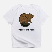 Brown Beaver (Custom) Infant T-Shirt