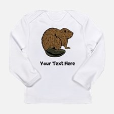 Brown Beaver (Custom) Long Sleeve T-Shirt