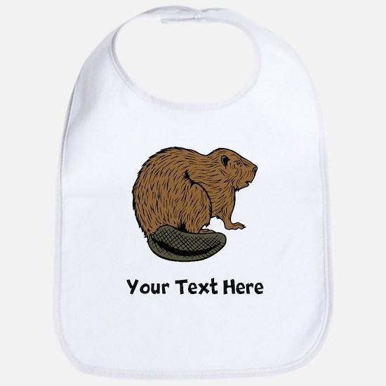 Brown Beaver (Custom) Bib