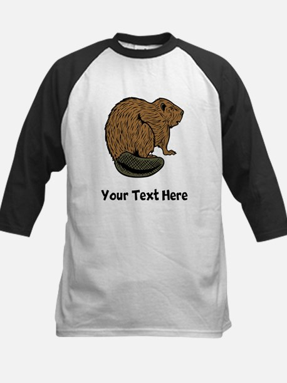 Brown Beaver (Custom) Baseball Jersey