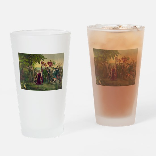 columbus Drinking Glass
