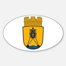 Cuxhaven Coat of Arms Oval Decal