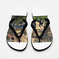 cedar mountain Flip Flops