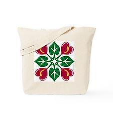 Anthurium Quilt Tote Bag