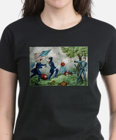 curier ives 19th century illustration T-Shirt