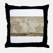 america cup Throw Pillow