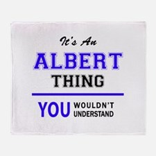 ALBERT thing, you wouldn't understan Throw Blanket