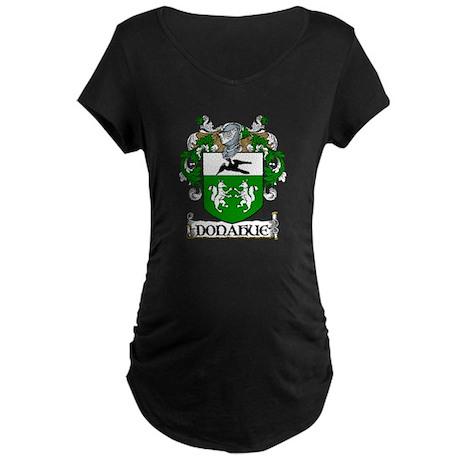Donahue Coat of Arms Maternity Dark T-Shirt