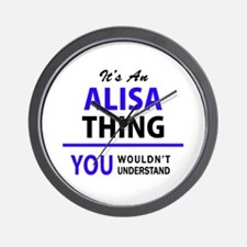 ALISA thing, you wouldn't understand! Wall Clock