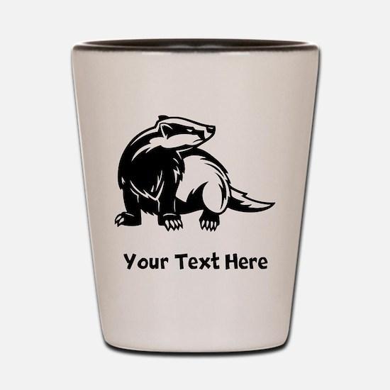 Badger (Custom) Shot Glass