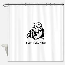 Badger (Custom) Shower Curtain