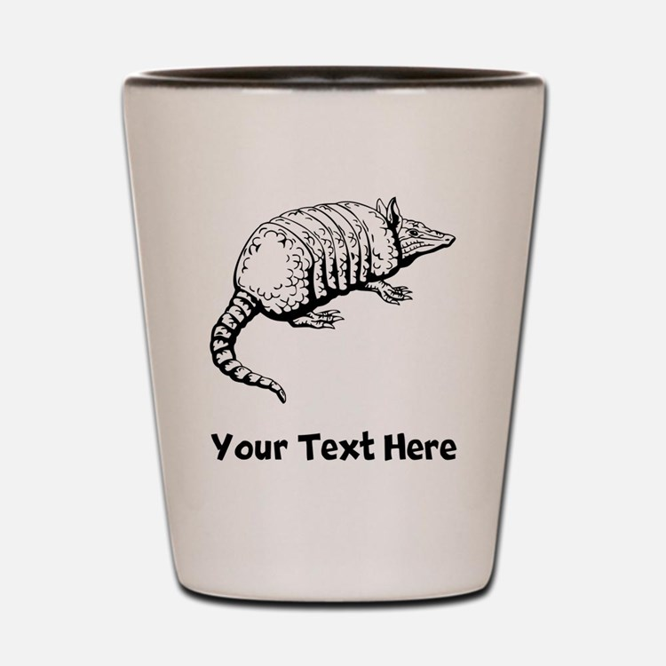 Armadillo (Custom) Shot Glass